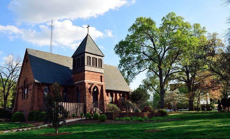 St. Marys Chapel Uptown Charlotte
