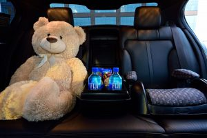 Charlotte limo Service with child car seats